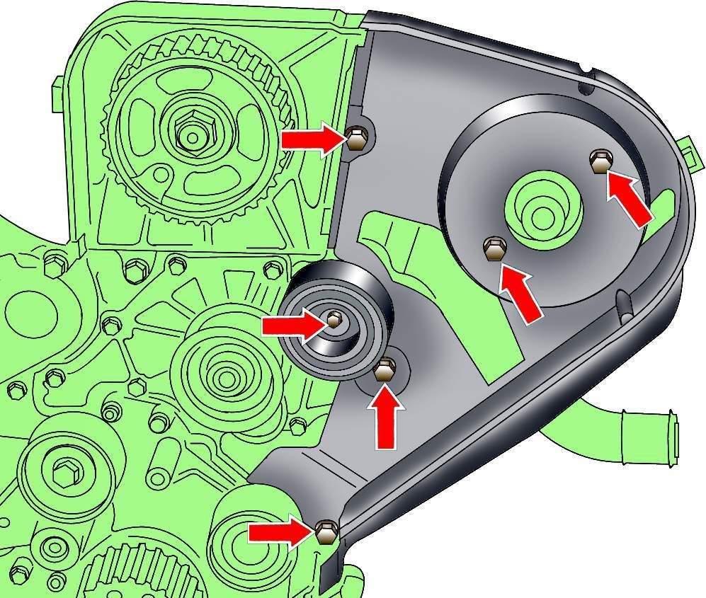Снятие топливного насоса, очистка фильтра на Ford Focus 2