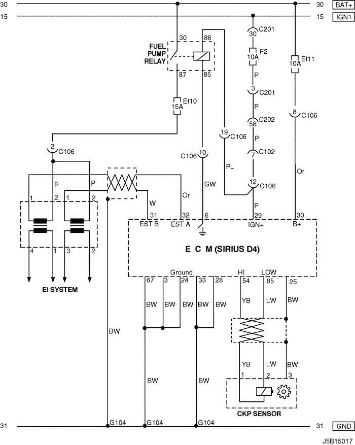 j5b15017 electrical wiring diagram 2005 nubira lacetti 4 ecm (engine daewoo lacetti wiring diagram at crackthecode.co