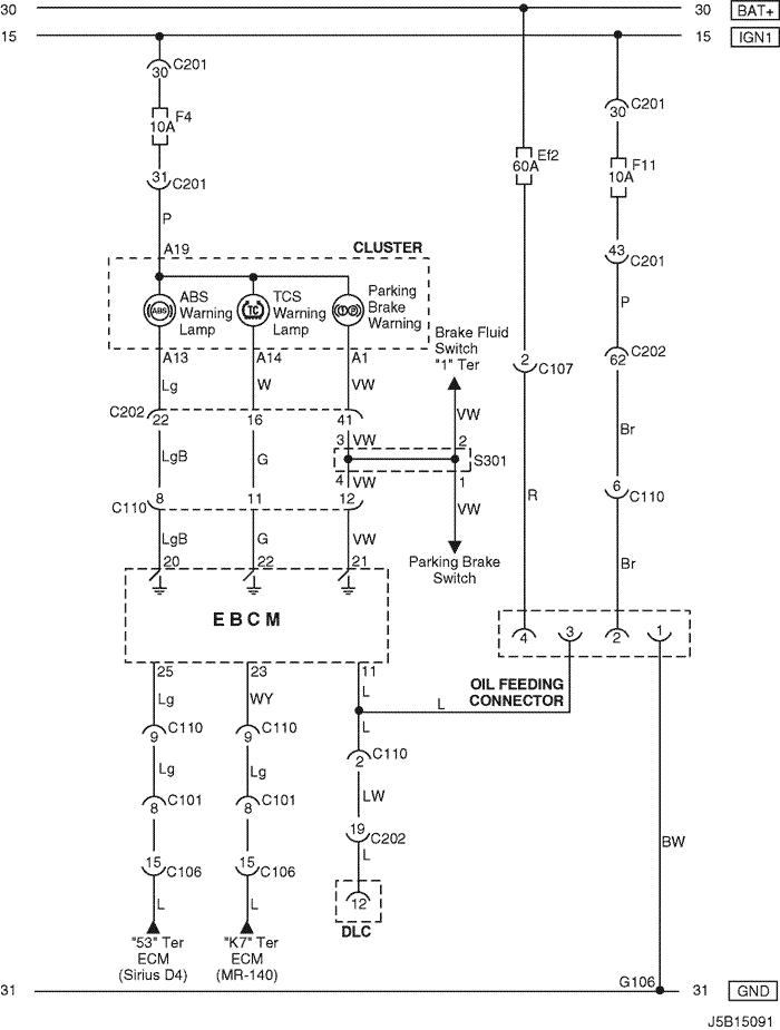 electrical wiring diagram 2005 nubira lacetti 27 abs antilock rh pkfnpo ru daewoo nubira electrical diagram daewoo nubira electrical wiring diagram