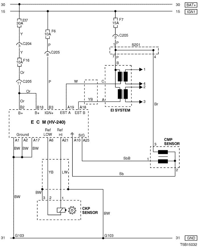 electrical wiring diagram 2005 kalos 3. ecm (engine control module) : hv -  240  pkfnpo.ru
