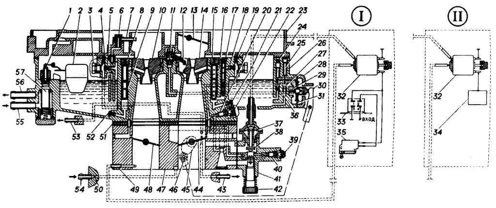 карбюратора К-151 системой