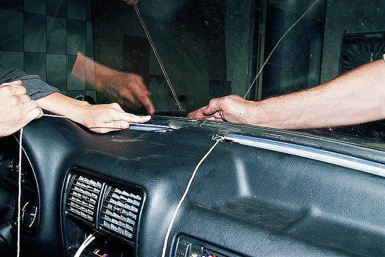 Установка лобового стекла своими руками газ 3110