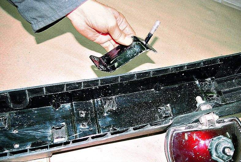 Ремонт заднего бампера газ 3110 своими руками 82