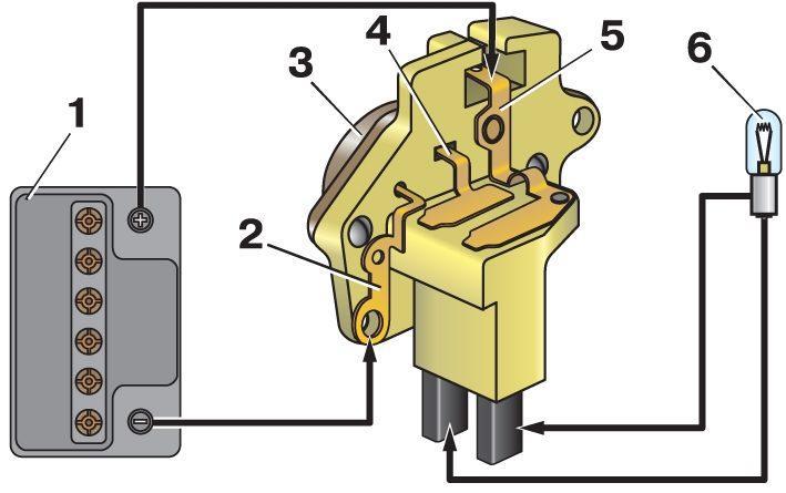Фото №7 - ВАЗ 2110 как проверить реле регулятор генератора