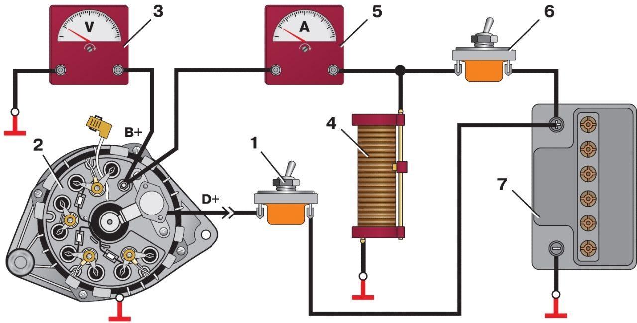 Фото №28 - как проверить напряжение на генераторе ВАЗ 2110