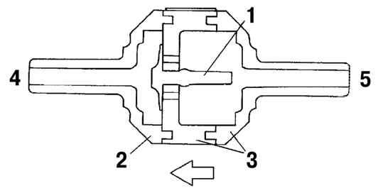 обратный клапан системы охлаждения mazda 626ge