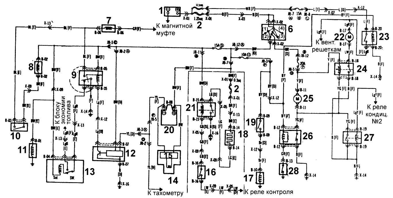 электрическая схема электроудочки кама