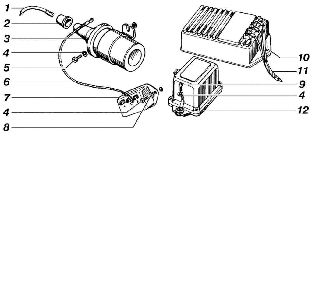 схема зажиганния уаз 469