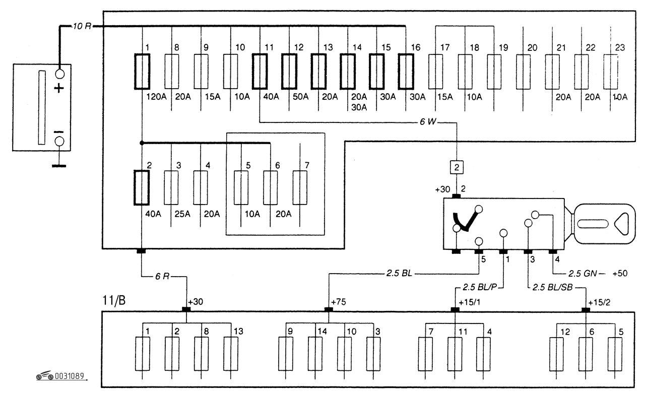 вольво s40 1,9t схема электрооборудования