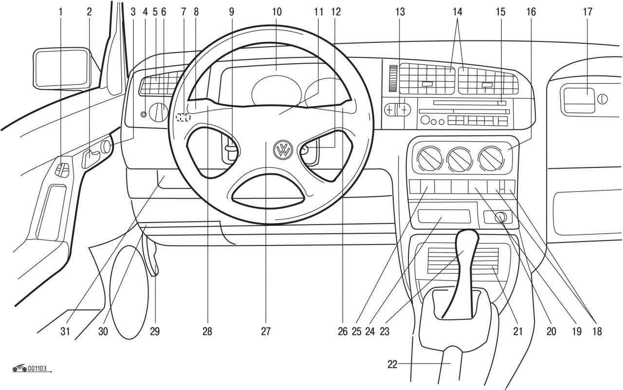 схема системы отопления volkswagen bora