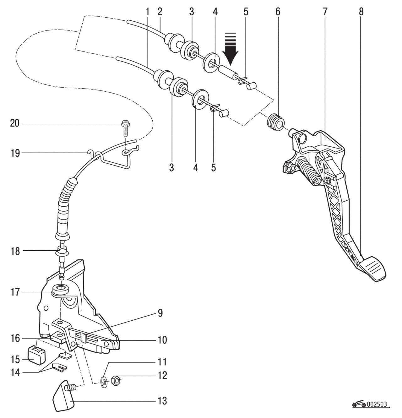 Замена вилки сцепления на гольф 2