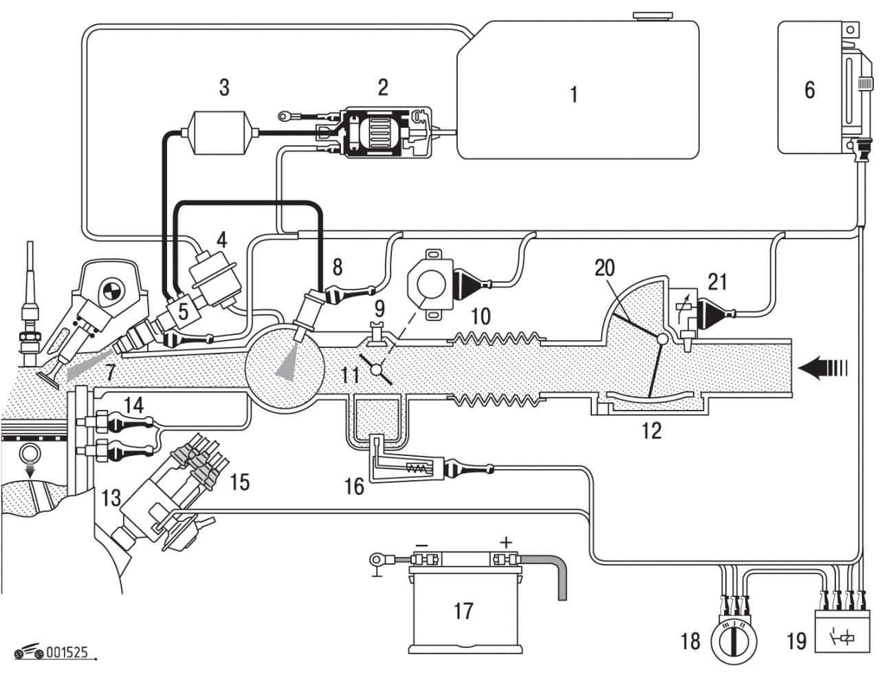 схема подключения вакуумных трубочек фольксваген