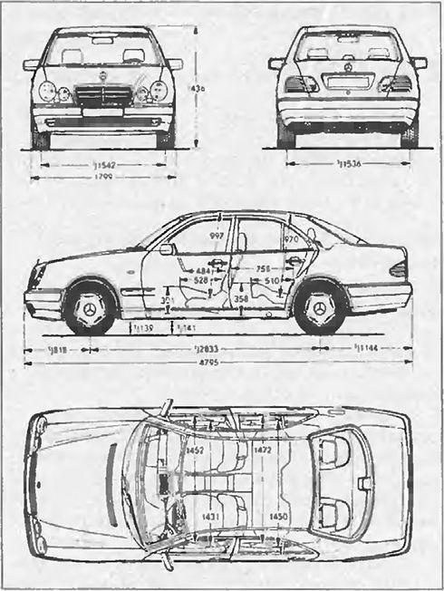 Mercedes-Benz W210 sedan