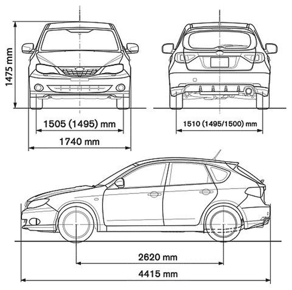 Инструкция по эксплуатации subaru impreza 1998