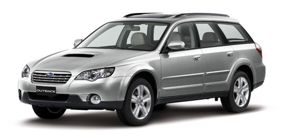 Subaru Legacy Outback BL / BP (Субару Легаси Аутбэк 2003-2009)